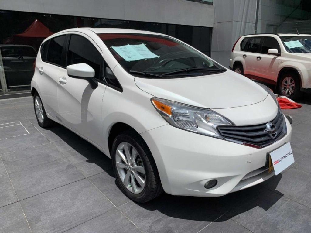 Nissan Note Advance Mecanico Gas y Gasolina