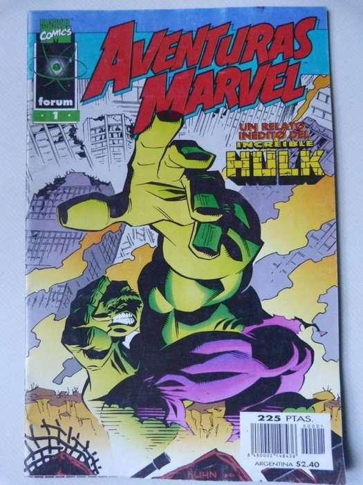 Aventuras Marvel Vol.1 Nº1, El Increíble Hulk 1998