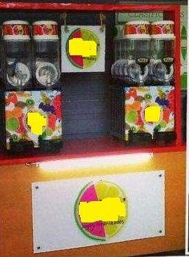 alquilamos máquinas para granizado de jugos naturales y cócteles