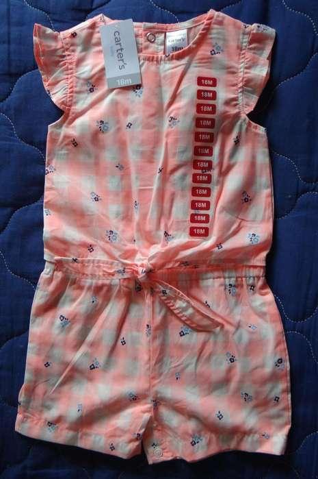 <strong>ropa</strong> niña 18 meses Marca Carter's original