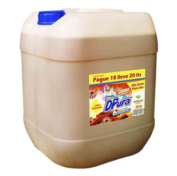 Desinfectante 20 litros