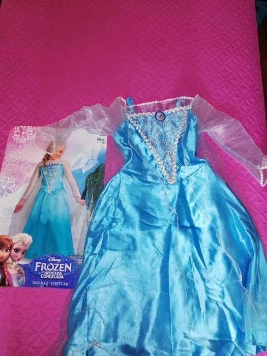 Vendo Disfraz Princesa Frozen Usado