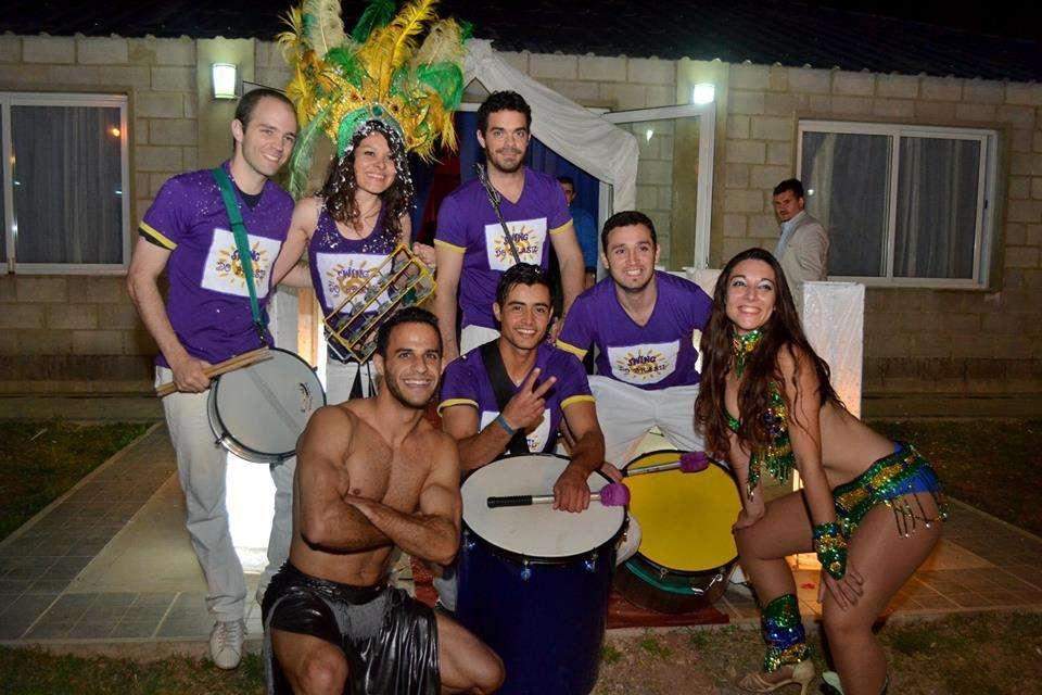 Batucada y Show brasilero en Córdoba Swing do Brasil