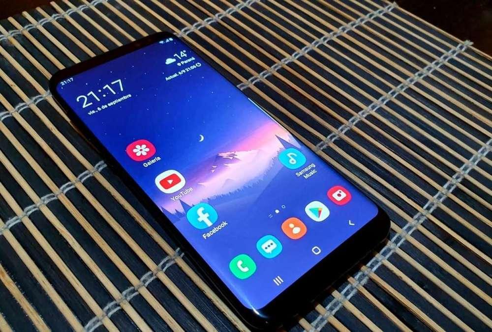 Permuto S8 plus 64 gb impecable permuto por iphone