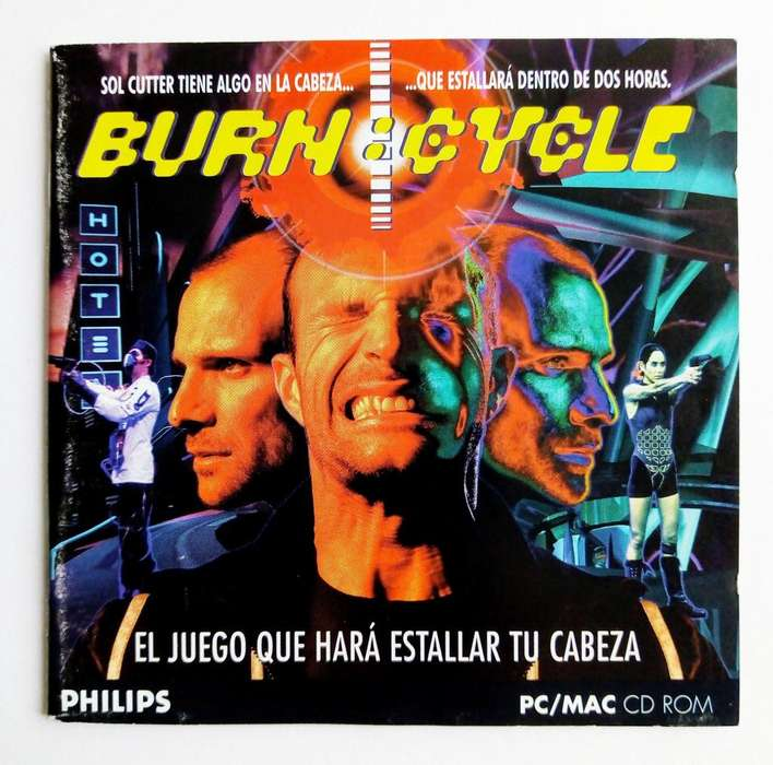 Burn Cycle - PC-MAC-Macintosh