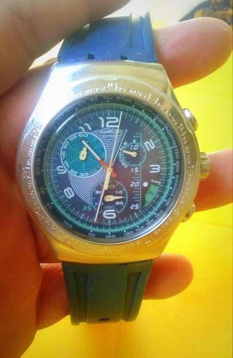 Reloj Swatch Original, Swiss Made, Deportivo, Usado en Excelente Estado 9.5 de 10.....