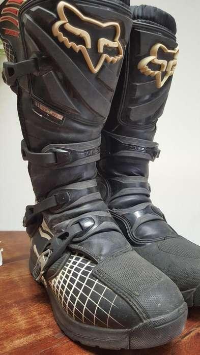 Botas motocross enduro marca Fox Comp 5 M10 talle 44 impecable estado