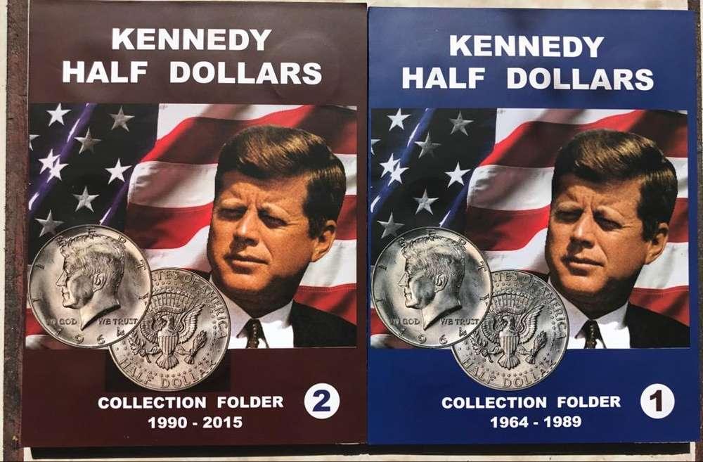 Album Coleccionador para Monedas de 50 Centavos Kennedy Medi