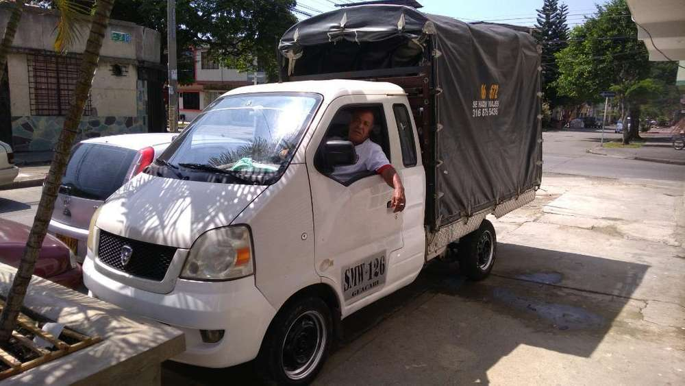 Vendo Camioneta Hafei 2008