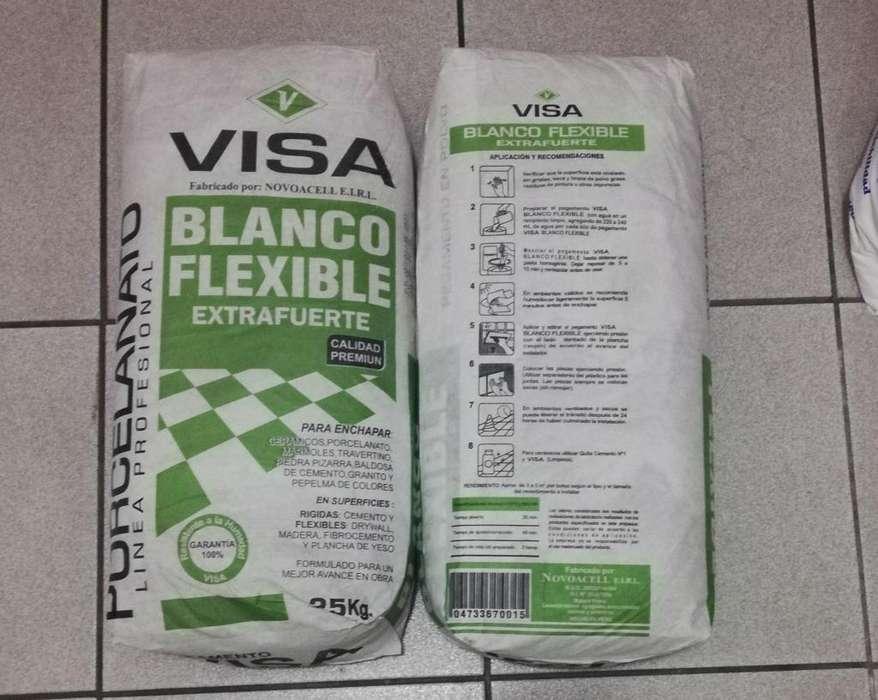Pegamento Extrafuerte Flexible Porcelanato Marmol Drywall
