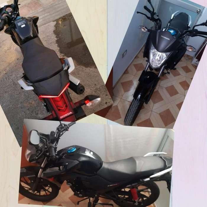Moto Honda Cb 125 Como Nuevaaa !!!
