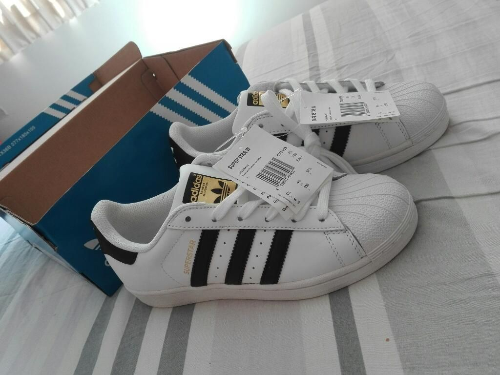 6fb07678f Adidas Superstar Originales. Talla 37 - Lima