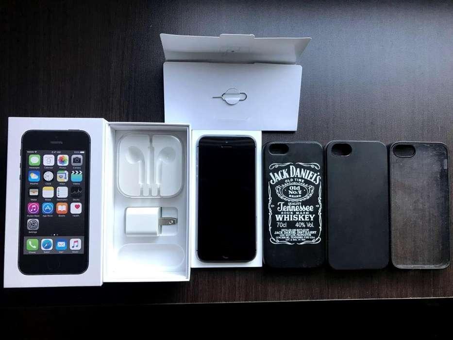 iPhone 5S - Segunda Mano Estado 10/10 con caja original, 16 GB