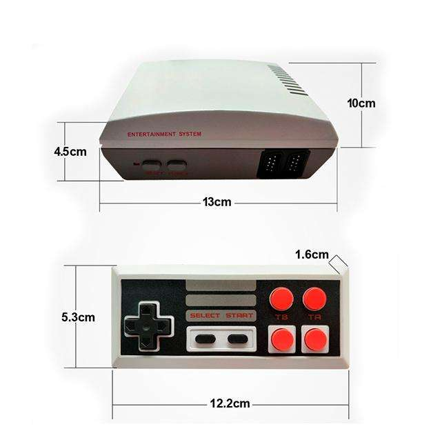 Mini Consola Classic Edition Tipo <strong>nes</strong> 620 Juegos