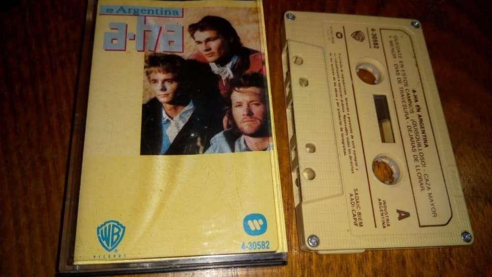 a-ha - En Argentina - Cassette ARG