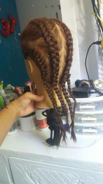 Maniqui Practica Peinados