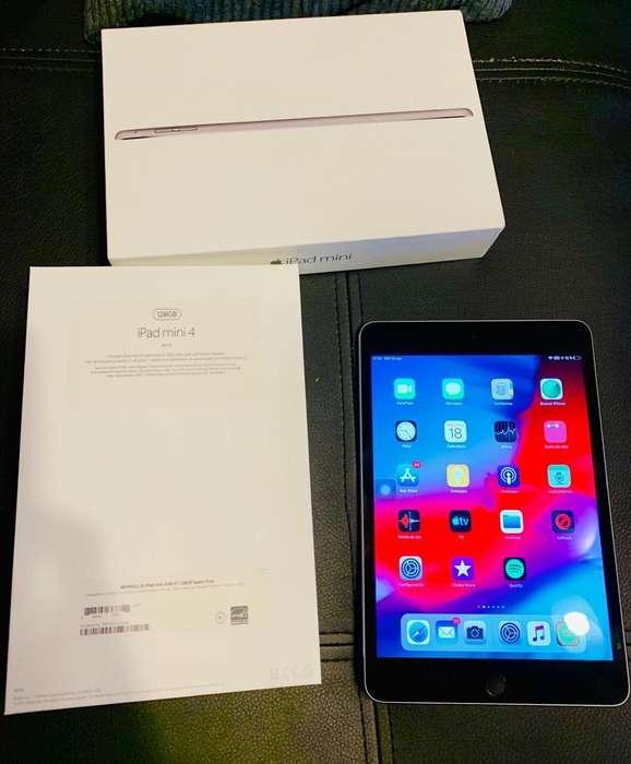 iPad Mini 4 128Gb Caja Y Accesorios