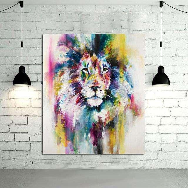 Cuadro de león 1795