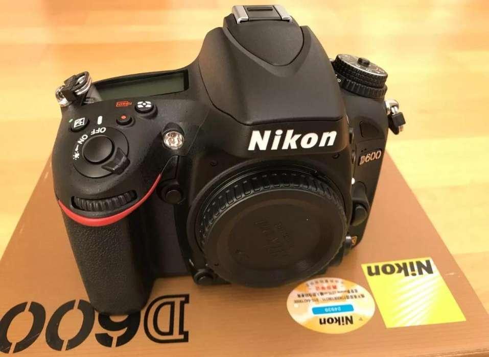 Se Vende Cámara Réflex Digital Nikon D60