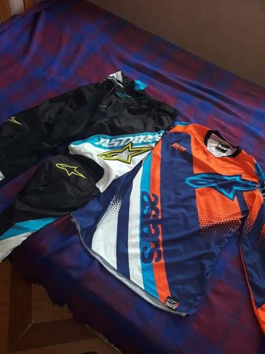 vendo traje alpinistars motocross de gama alta