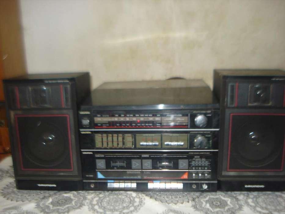 Equipo De Musica Grundig Cc630 C/bandeja Exc Sonido No Envio