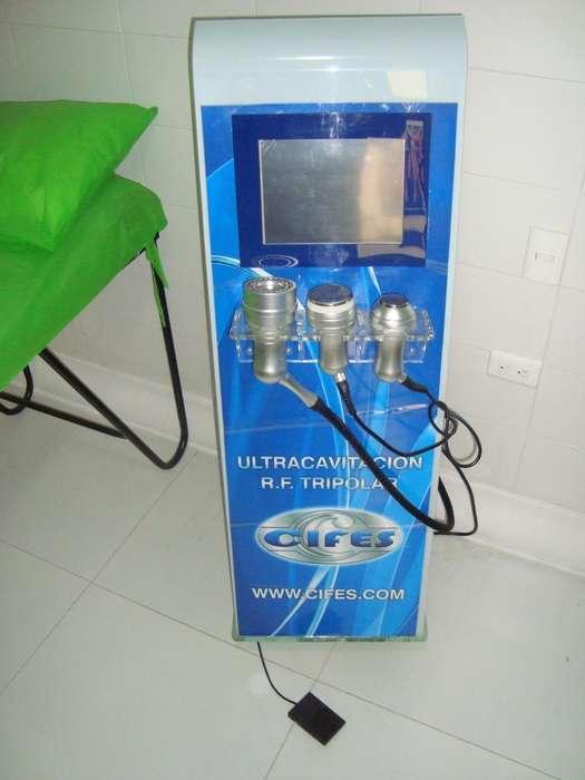 Ultracavitación y radiofrecuencia