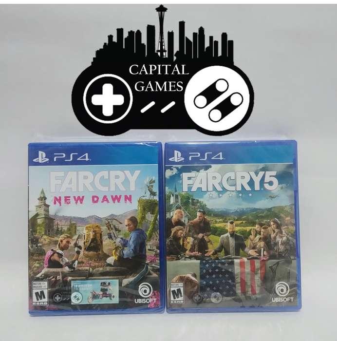 PROMO-FARCRY NEW DAWN FARCRY 5