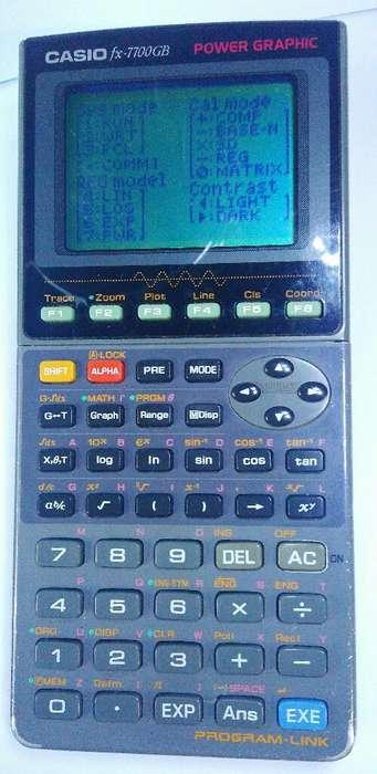 Calculadora Graficadora Fx-7700 Gb