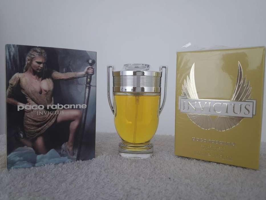 Perfume Invictus Gold Mujer Palermo