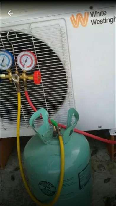Aire Acondicionado Carga de Gas