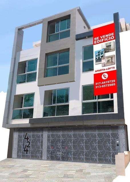 Edificio arquitectura moderna rentando