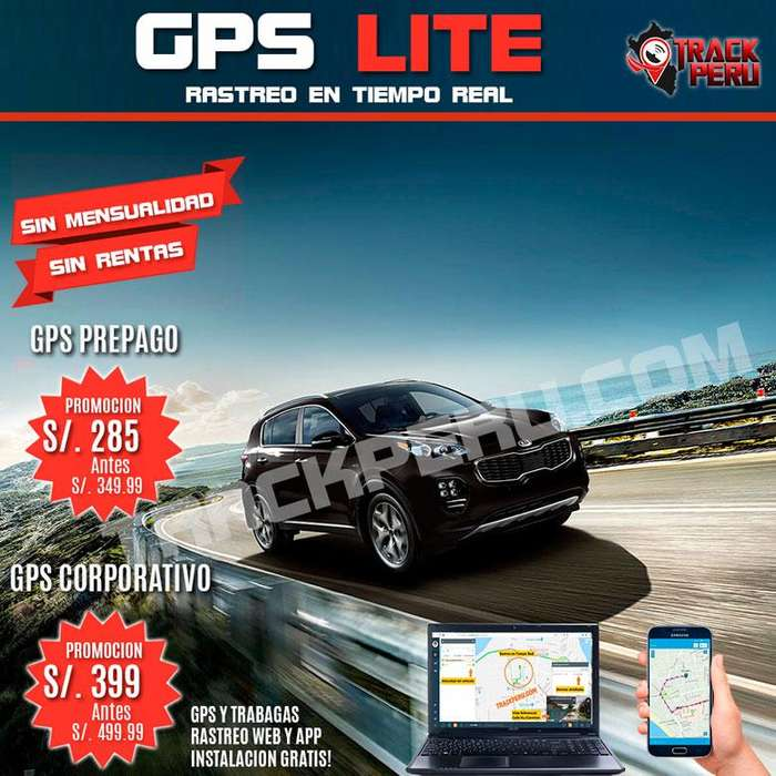 GPS AUTO MOTO CAMIONETA SIN RENTAS