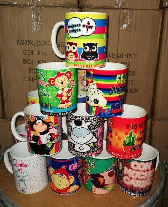 Mugs Sublimación Y Personalizados