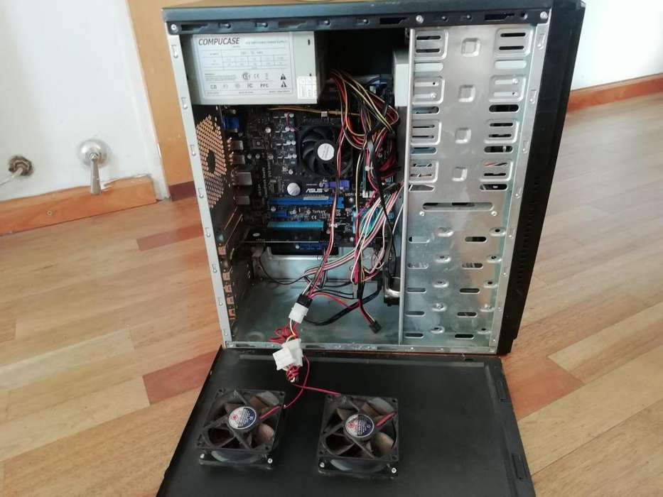Cpu Completa Amd A4 3300 Mother F1a55-m Le 4gb <strong>memoria</strong> 500gb