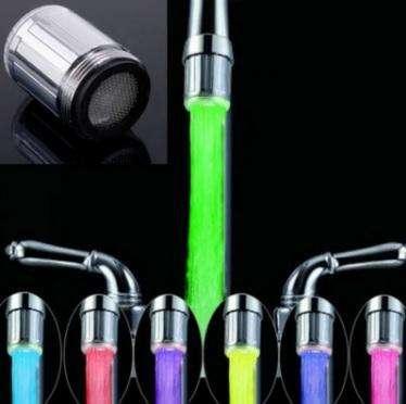 Luz LED Colorido para <strong>grifo</strong>s de agua