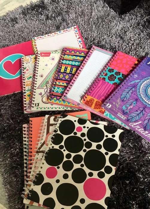 10 Cuadernos x 50 Todos