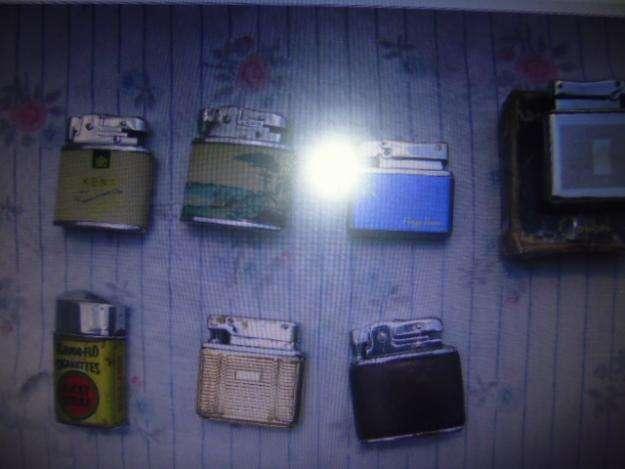 Encendedores o candelas antiguas juego x 7 unidades3122802858