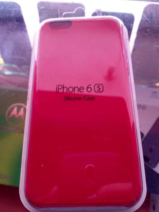 Original Forro Silicona de iPhone 6 S