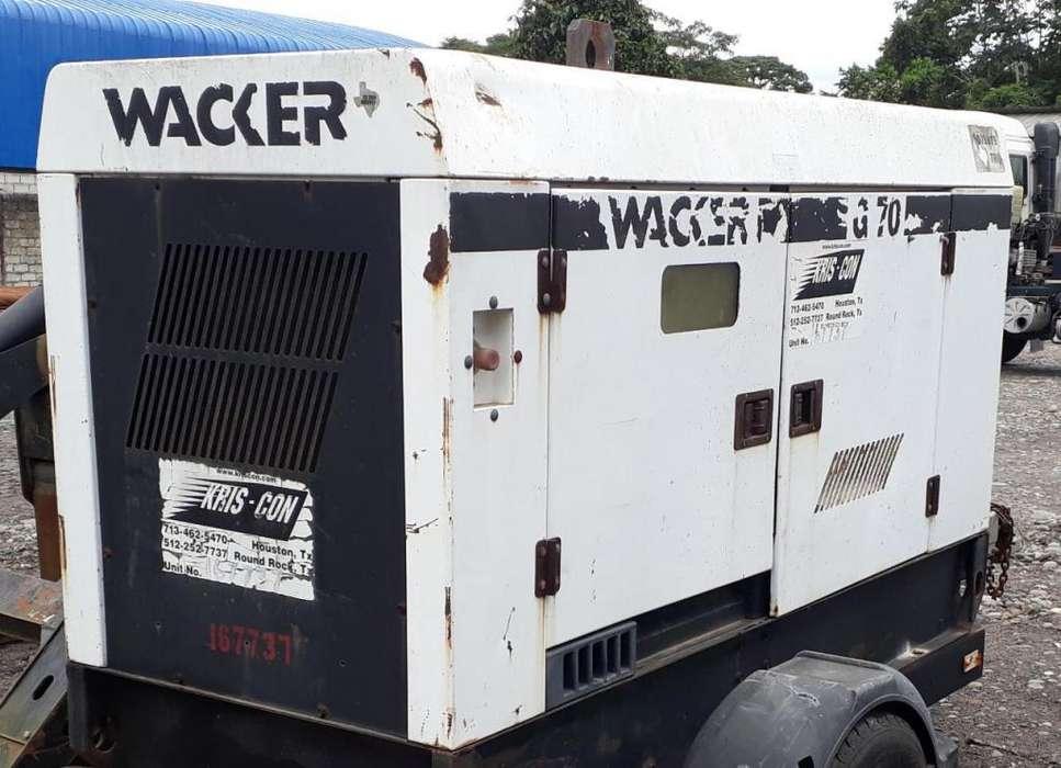Generador Electrico Wacker Neuson G70 58kw