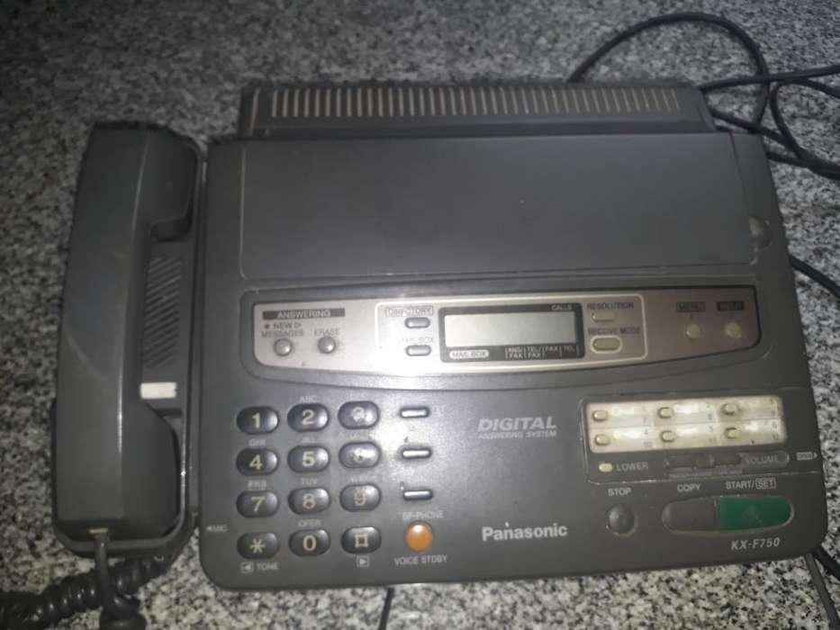 Fax Y Telefono Panasonic
