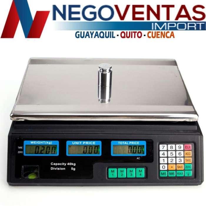 BALANZA DIGITAL ELECTRINICA PROFECIONAL IDELA PARA TUS TIENDAS Y NEGOCIOS