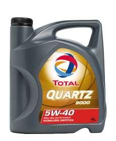 Aceite Motor Sintético- Total Quartz 9000 5w40