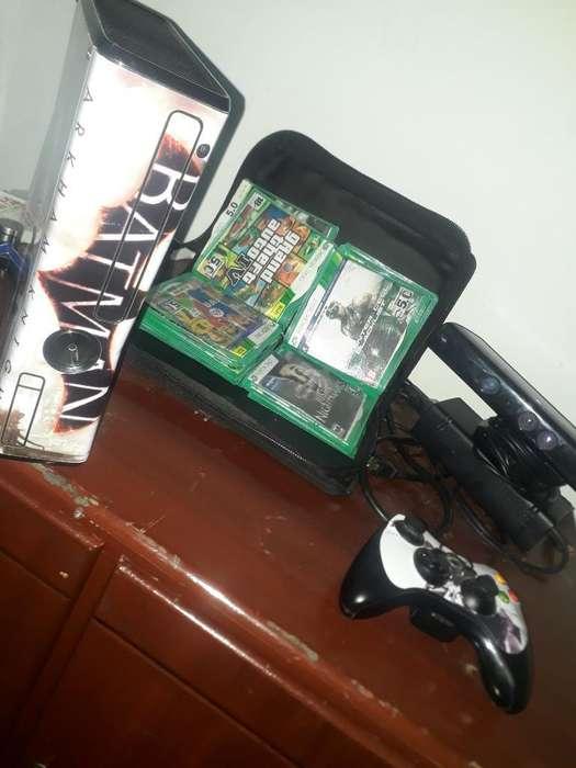 Xbox360 Kinet Un Control Varios Juegos