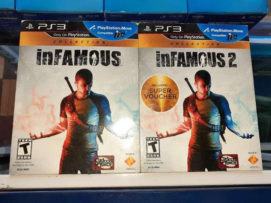 Infamous 1 Y 2 para Consola Ps3