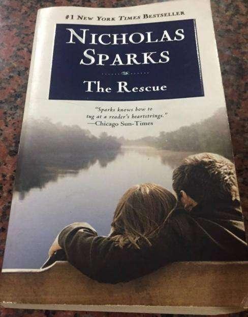 Venta de libro en inglés The Rescue Nicholas Sparks