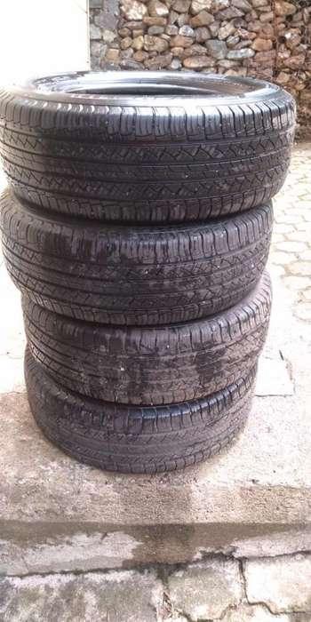 4 <strong>llanta</strong>s Michelin Casi Nuevas Rin 18 Bp