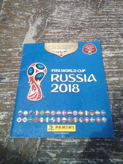 Álbum Panini Rusia 2018 Le Falta Una Lám