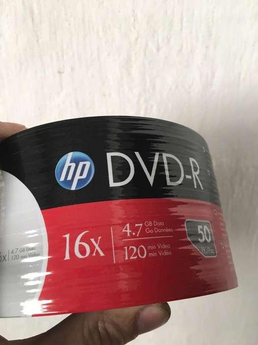 Dvd Hp Originales Cerrado oportunidad