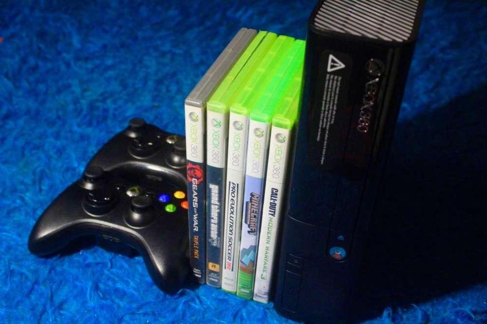 Xbox 360 chipiada. Lee copias y original 3 juegos