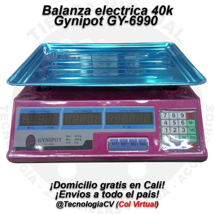 Balanza Gramera electrica 40k para Negocio Gynipot GY6990 R0064 VP70